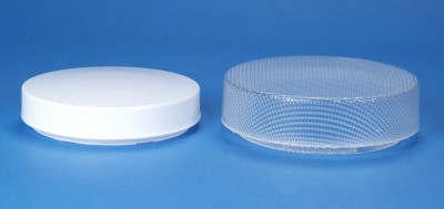 Drums available in White or Clear Prism Acrylic
